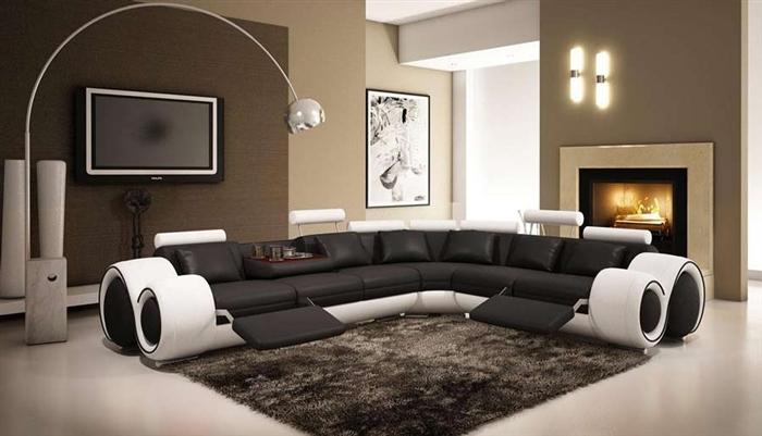 Italian Design Franco Sectional Sofa