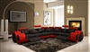 Italian Design Franco Sectional Sofa TOS-LF-4087-BR