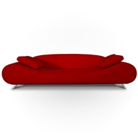 Modern Red Lounge 3-Seater Sofa TOS-TIK-MOOD-80S-RED