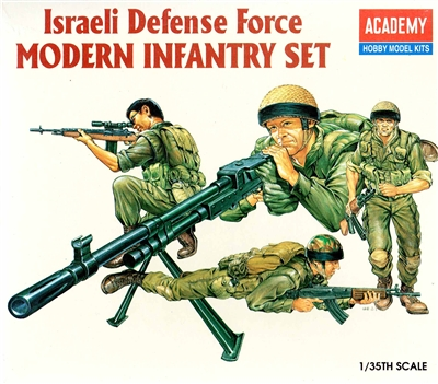 Academy #1368 1/35 Israeli Defense Force Infantry Set
