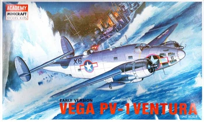 Academy #1677 1/72 Lockheed PV-1 Ventura Vega Early Virsion
