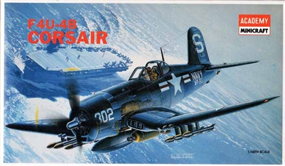 Academy #2124 1/48 Vought F4U-4B Corsair