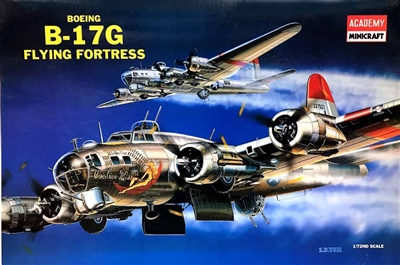 "Academy #2143 1/72 Boeing B-17G Flying Fortress ""Carolina Moon"""
