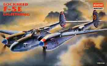 Academy #2149 1/48 Lockheed F-5E Photo Reconnaissance Lightning