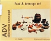 ADV/Azimut Productions #35605 1/35 WWII Europe Food & Beverage Diorama Set