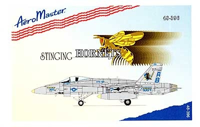 AeroMaster #48-396 1/48 F-18C Stinging Hornets Pt. III Decal Sheet