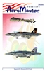 AeroMaster #48-484 1/48 F/A-18C Stinging Hornets Pt V Decal Sheet