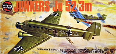 Airfix #05008 1/72 Junkers Ju 52/3M with Floats & Wheels