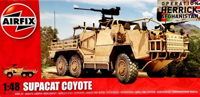 Airfix #06302 1/48  Operation Herrick Afghanistan Supacat Coyote