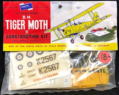 Airfix #1400 Type 2 1/72 De Havilland D.H. 82 Tiger Moth