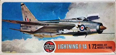 Airfix #2010 1/72 English Electric F.1A