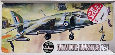 Airfix #266 Type 4 1/72 Hawker Siddeley Harrier