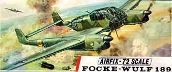 Airfix #267 1/72 Focke Wulf Fw 189 Flying Eye