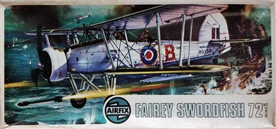 Airfix #285 Type 4 Issue 1/72 Fairey Swordfish