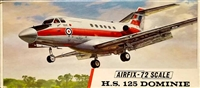 Airfix #389 Type 3 1/72 Hawker Siddeley H.S. 125 Dominie