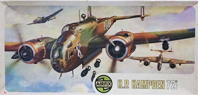 Airfix 491 Type 4 Handley Page Hampden