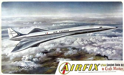Airfix Craftmaster #1508 1/144 SUD-BAC Concorde Air France