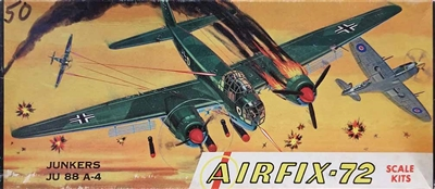 Airfix Corporation of America 1-109 Junkers Ju 88A-4