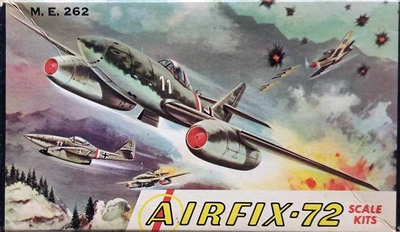 Airfix Corporation of America 11-39 Messerschmitt Me 262