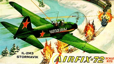 Airfix Corporation of America #12-49 1/72 Ilyushin IL-2M3 Stormavik