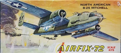 Airfix Corporation of America 2-109 B-25 Mitchell