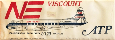 Airliners America/ATP #798NE 1/120 Vickers Viscount - Northeast