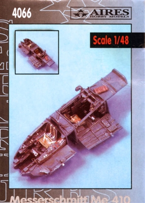 Aires #4066 1/48 Messerschmitt Me 410 cockpit set