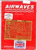 Airwaves #4823 1/48 Harrier GR.5 Photo Etch Set