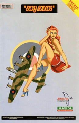 Albatros Modelworks 48003 1/48 Sexy Lancs Lancasters Good Girl Nose Art Decal