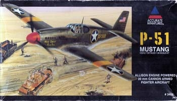 Accurate Miniatures #3400 1/48 P-51 Mustang