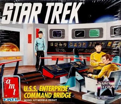 AMT6007 Star Trek Enterprise Command Bridge