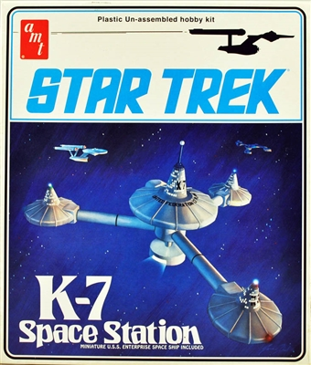 AMT #644 Star Trek Original Series K-7 Space Station