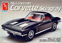AMT #6520 1963 Corvette Stingray