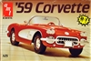 AMT / ERTL #6588 1959 Chevrolet Corvette - 2 in 1