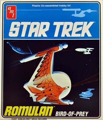 AMT #665 Star Trek Original Series Romulan Bird of Prey