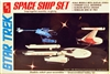 AMT #6677 Star Trek Space Ship Set - 1980s