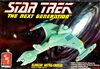 AMT #6812 Star Trek The Next Generation Klingon Battle Cruiser
