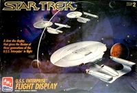 AMT #8787 Star Trek U.S.S. Enterprise Flight Display