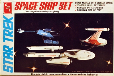 AMT #S953 Star Trek Original Series Spaceship Set