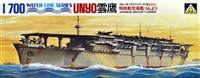 Aoshima #A203 1/700 Japanese Aircraft Carrier Unyo