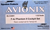 Avionix #32001 1/32 F-4J Phantom II Cockpit Set