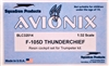 Avionix #32014 1/32 F-105D Thunderchief Cockpit Set
