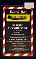 Black Box #32037 1/32 A-7D Air Force Cockpit set