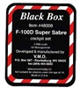 Black Box #48008 1/48 F-100D Super Sabre Cockpit Set