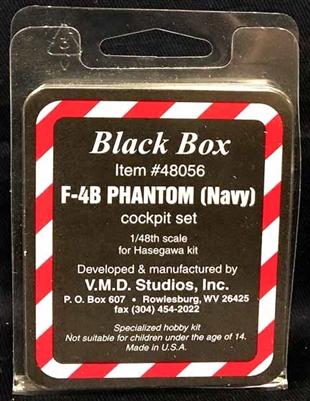 Black Box #48056 1/48 F-4B Navy Phantom Cockpit Set
