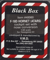 Black Box #48060 1/48 F/A-18D Hornet Cockpit / ATARS Nose