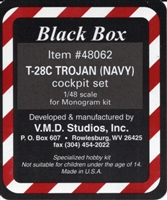 Black Box #48062 1/48 T-28C Trojan Cockpit Set - NAVY