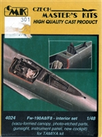 CMK #4024 1/48 Fw-190A8/F8 Interior Detail Set