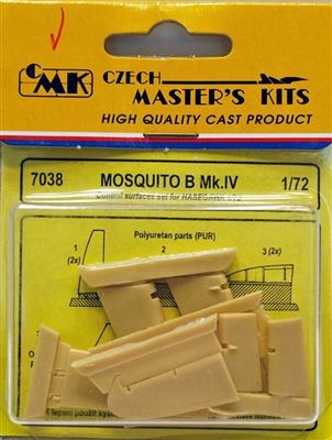 CMK #7038 1/72 Mosquito B Mk.IV Control Surfaces