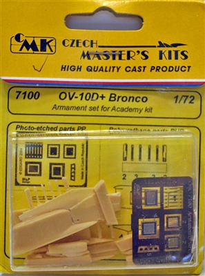 CMK #7100 1/72 OV-10D+ Bronco Armament set